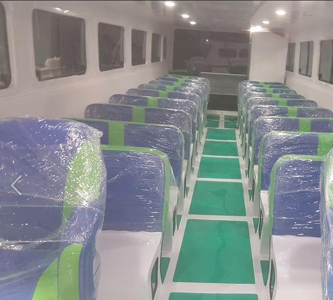 Nội thất tàu du lịch bằng composite