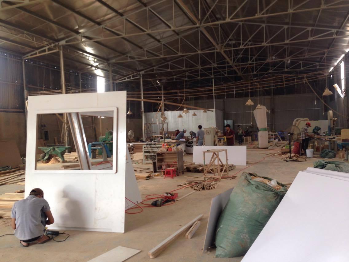 Sản xuất mô hình nhà bảo vệ 1,7x1,7m