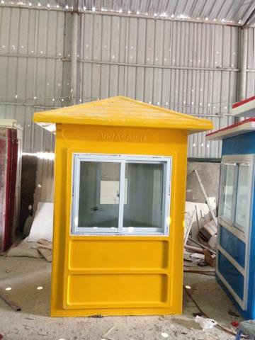 Cabin vọng gác màu vàng bằng composite