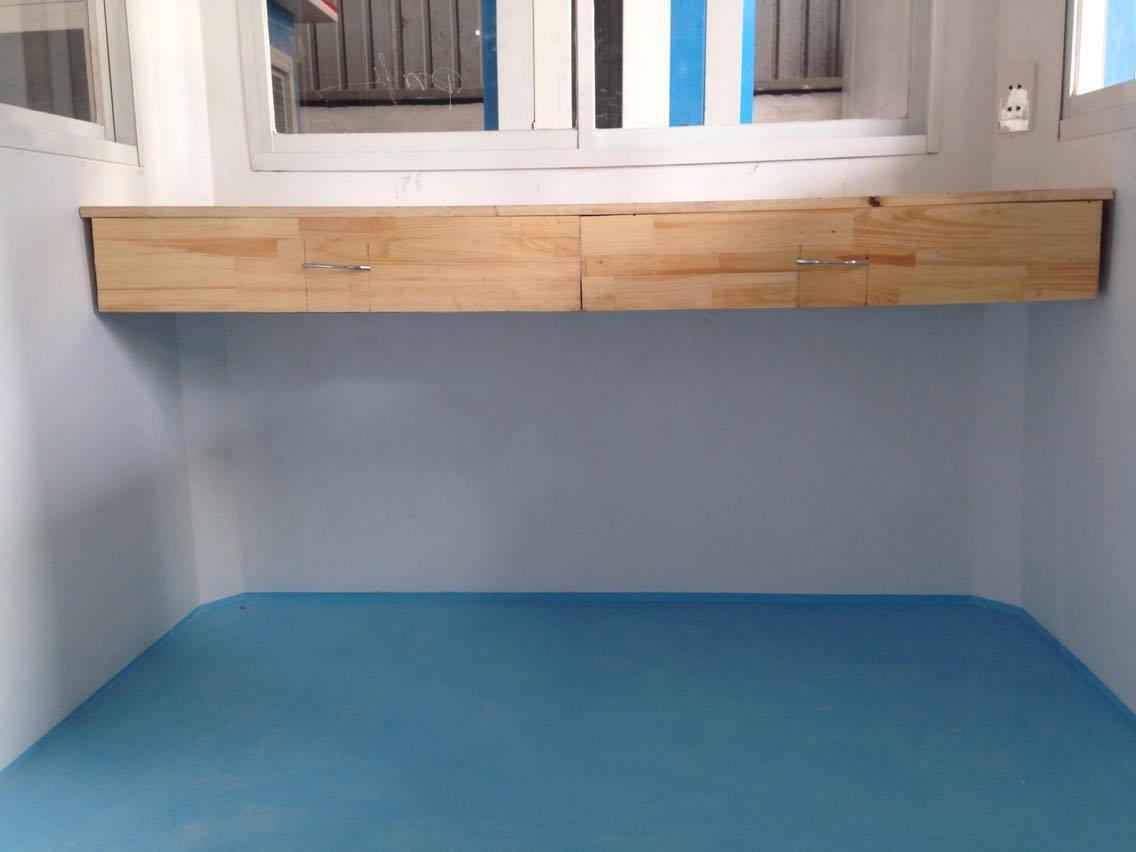 Sàn và nội thất composite đúc liên khối