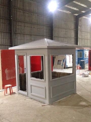Sử dụng công nghệ đúc liền khối để đảm bảo tính cứng vững cho các cabin nhà bảo vệ