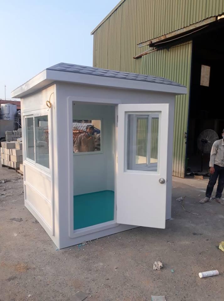 Nhà bảo vệ 2m x 2m mới được sản xuất tại nhà máy trong KCN Phố Nối A, Hưng Yên