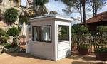 Nó được sử dụng làm cabin bán vé vào khu du lịch