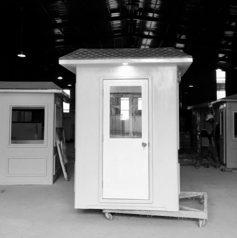 Những cabin cỡ nhỏ được lắp 2 đèn ngoài ở 2 mặt đối diện