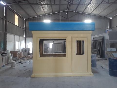 Cabin bảo vệ size lớn đúc liên khối bằng composite