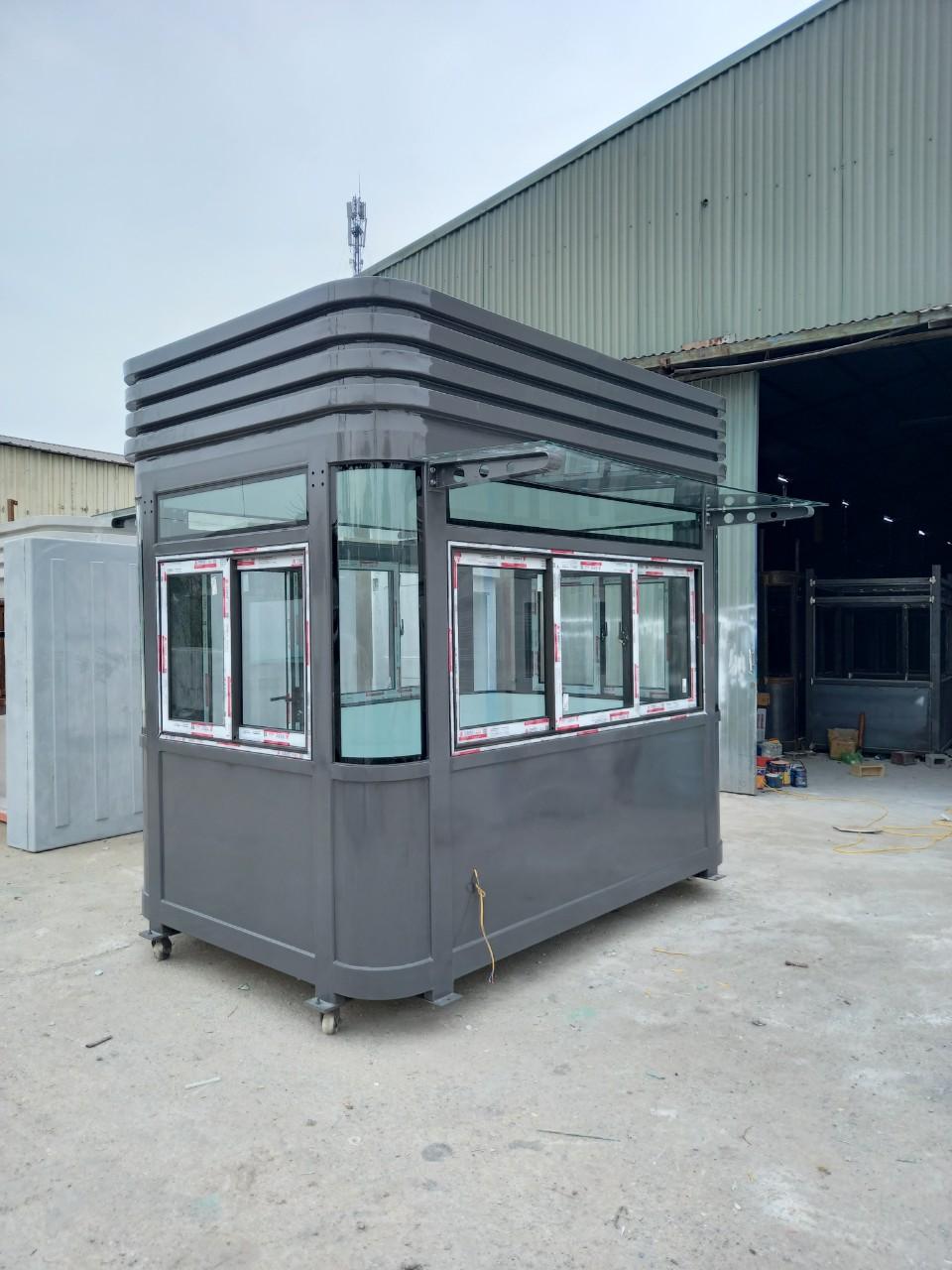 Nhà bảo vệ khung thép nội thất composite cỡ lớn